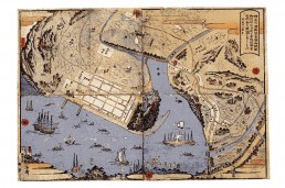 横浜開港地図