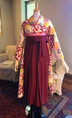 袴衣装展示