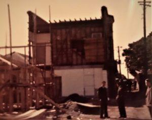 建設途中のテラスハウス山手113-B