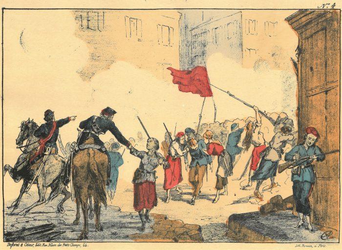 女性たちが守るブランシュ広場