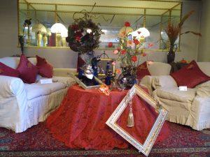 2階サロン ハロウィン装飾